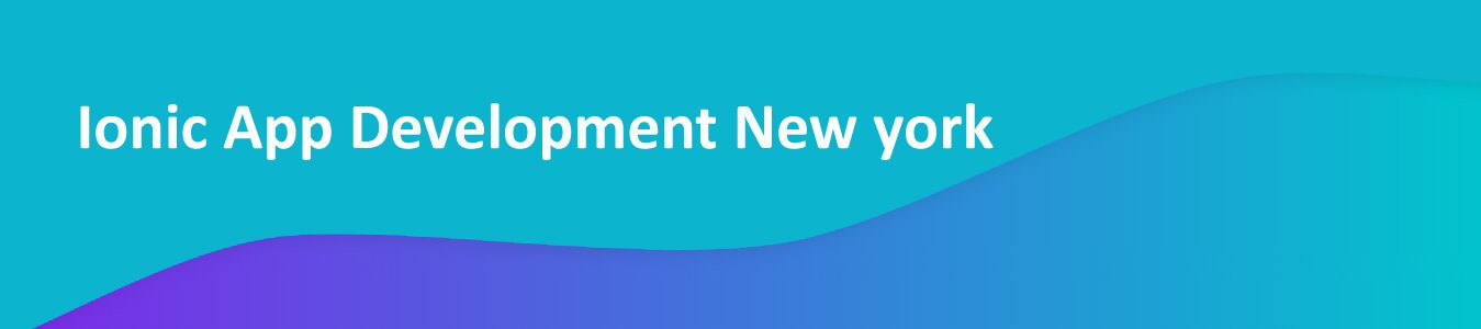 Ionic App Development Company New York